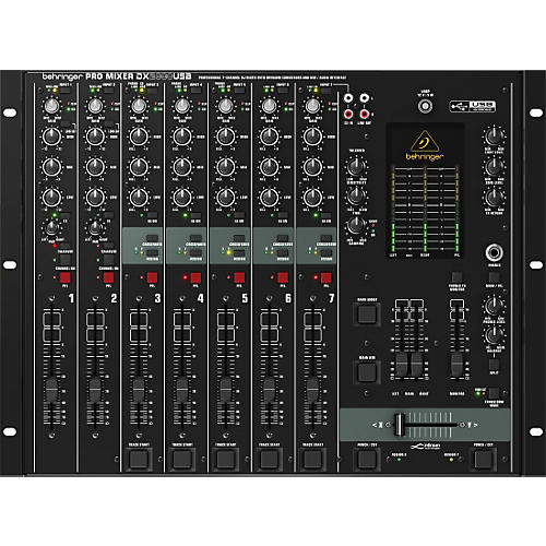 Behringer DX2000USB Pro 7-Channel DJ Mixer thumbnail