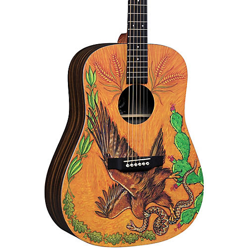 Martin DXMAE 30th Anniversary Dreadnought Acoustic-Electric Guitar thumbnail