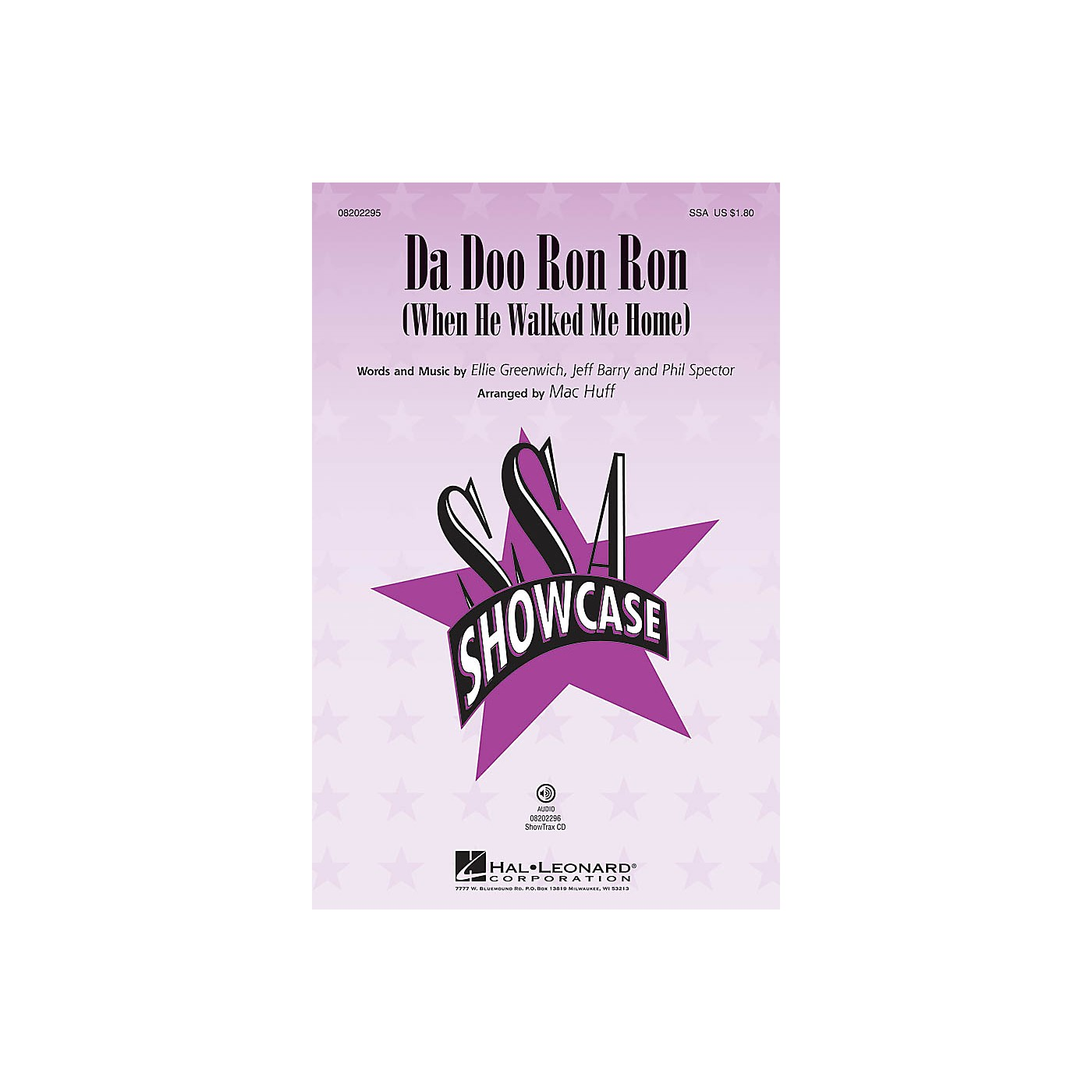 Hal Leonard Da Doo Ron Ron (When He Walked Me Home) ShowTrax CD by The Crystals Arranged by Mac Huff thumbnail