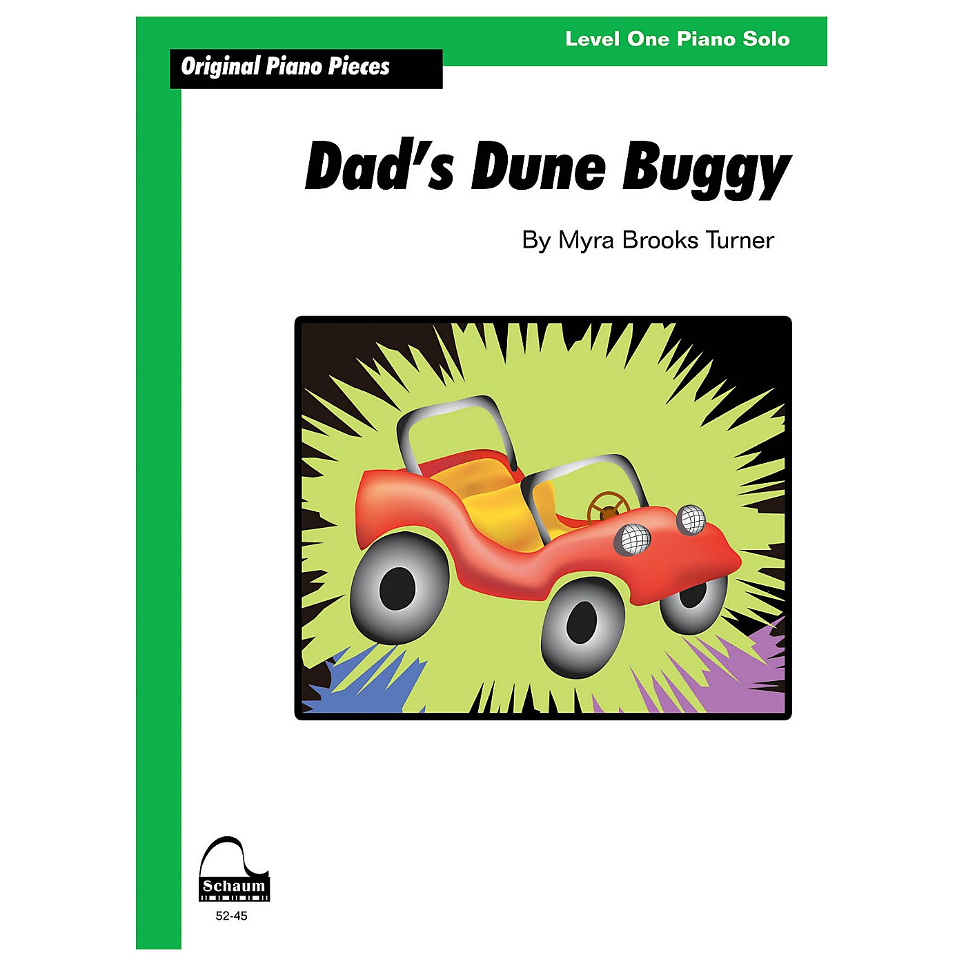 SCHAUM Dad's Dune Buggy Educational Piano Series Softcover thumbnail
