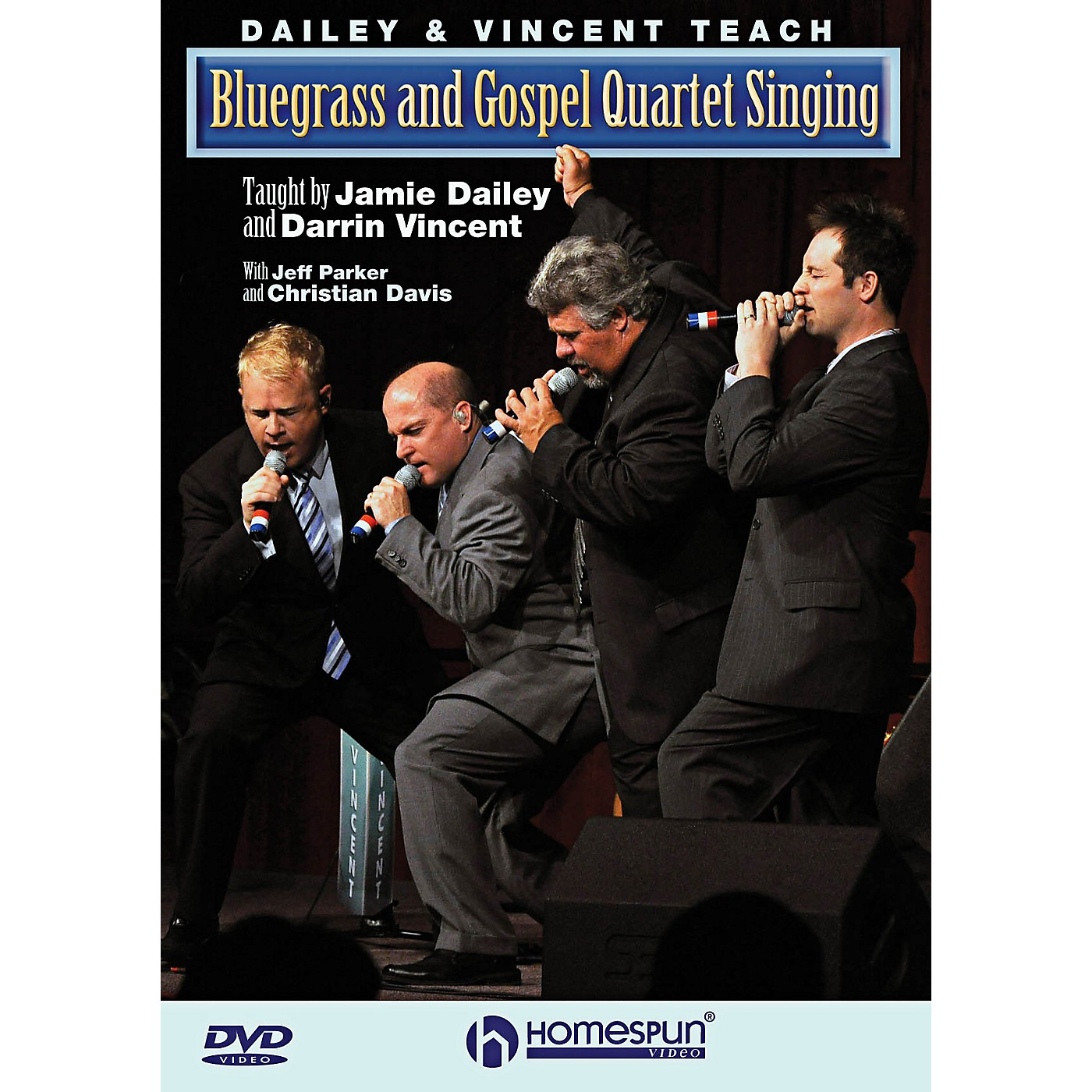 Homespun Dailey & Vincent Teach Bluegrass And Gospel Quartet Singing DVD thumbnail