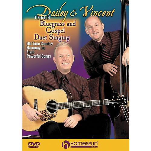Homespun Dailey & Vincent Teach Bluegrass and Gospel Duet Singing (DVD) thumbnail