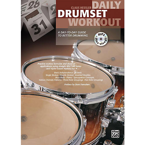 Alfred Daily Drumset Workout Book & MP3 CD thumbnail