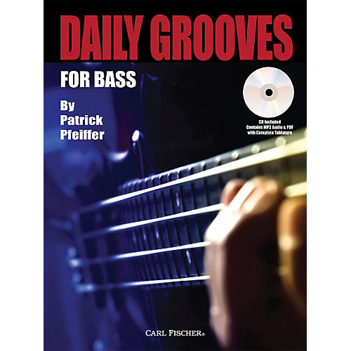 Carl Fischer Daily Grooves for Bass Book/CD thumbnail