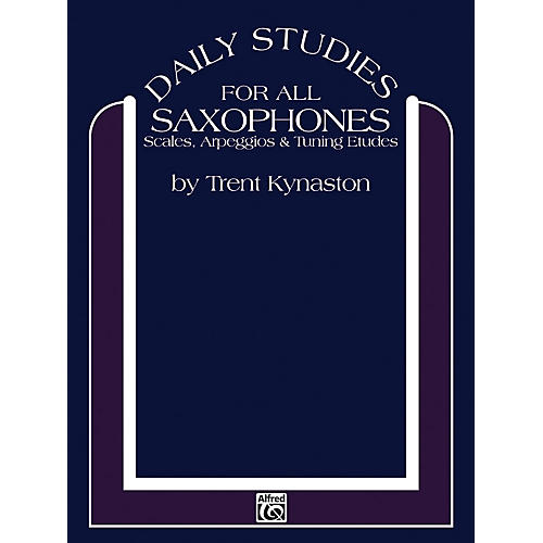 Alfred Daily Studies for Saxophones thumbnail