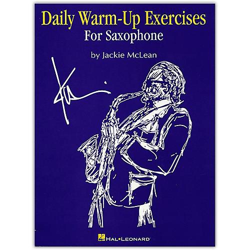 Hal Leonard Daily Warm Ups & Exercises for Saxophone thumbnail