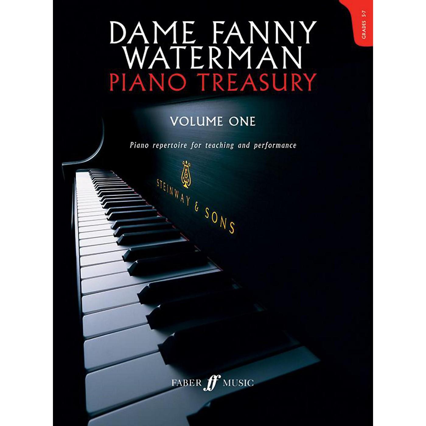 Faber Music LTD Dame Fanny Waterman - Piano Treasury Volume One Advanced Book thumbnail