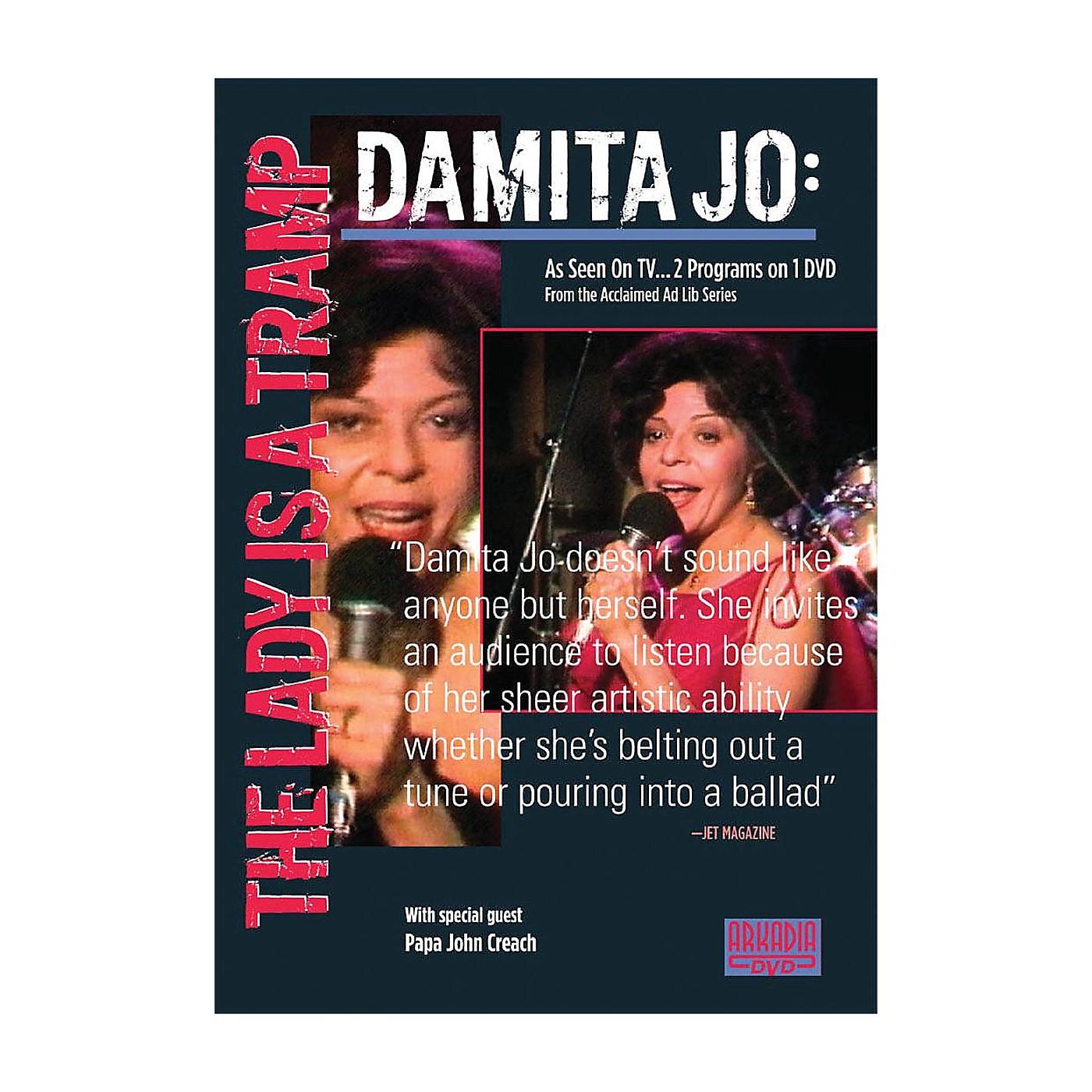 Hal Leonard Damita Jo - The Lady Is a Tramp (Visions of Jazz Series) DVD Series DVD Performed by Damita Jo thumbnail