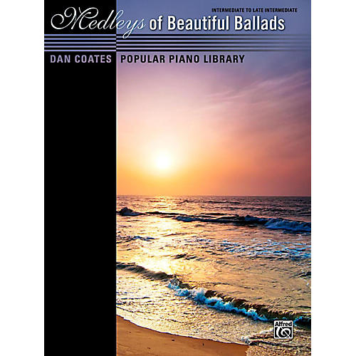 Alfred Dan Coates Popular Piano Library Medleys of Beautiful Ballads Book thumbnail