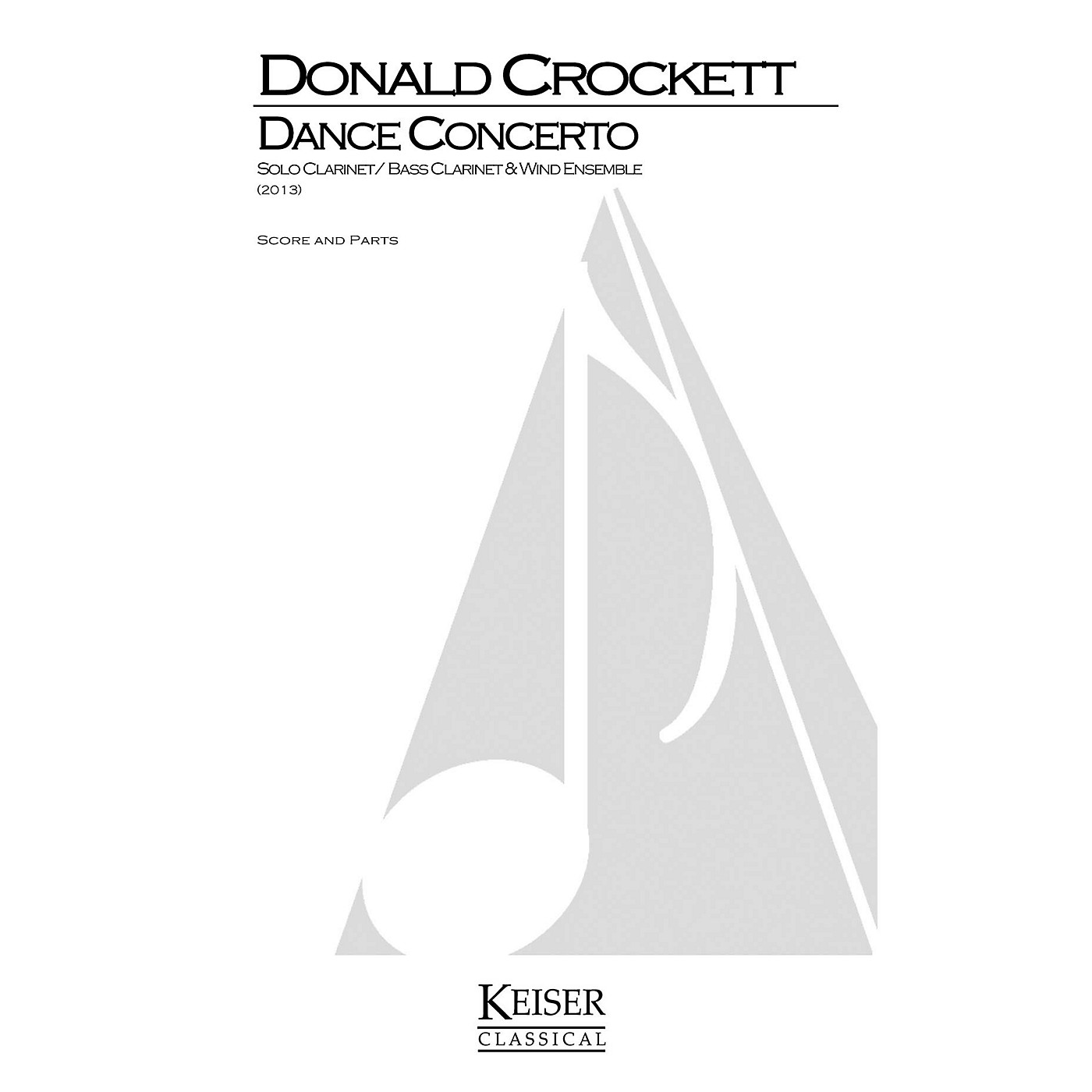 Lauren Keiser Music Publishing Dance Concerto LKM Music Series Softcover Composed by Donald Crockett thumbnail