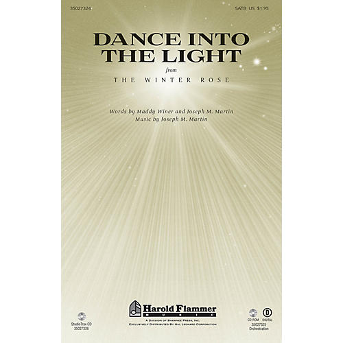 Shawnee Press Dance Into the Light (from The Winter Rose) SATB composed by Joseph M. Martin thumbnail
