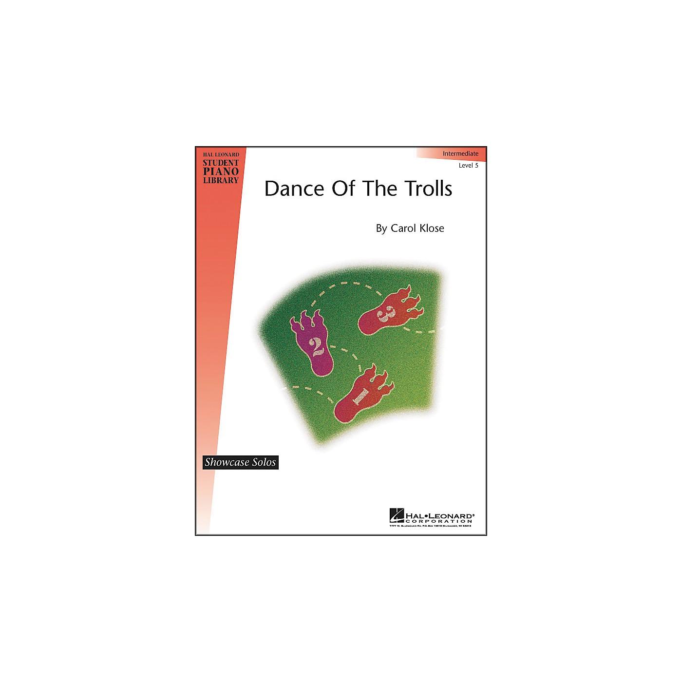 Hal Leonard Dance Of The Trolls Intermediate Level 5 Showcase Solos Hal Leonard Student Piano Library thumbnail