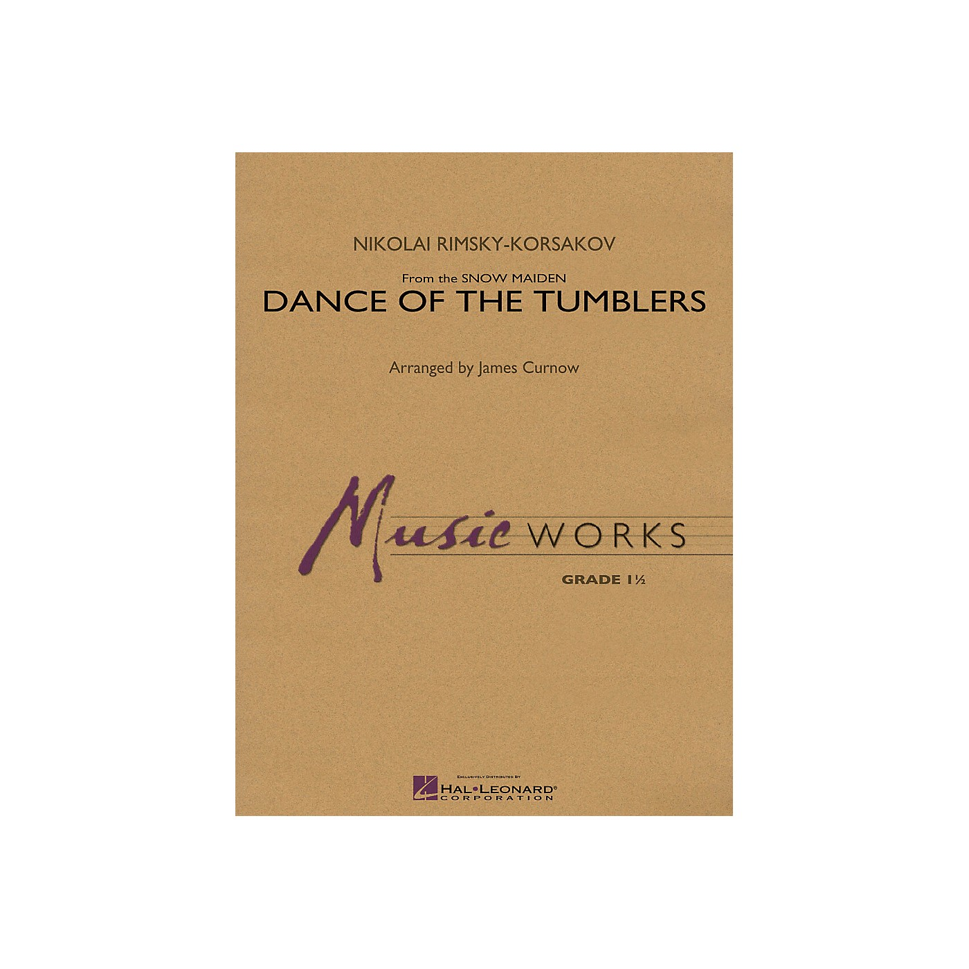 Hal Leonard Dance Of The Tumblers (From The Snow Maiden) - Music Works Series Grade 1.5 thumbnail