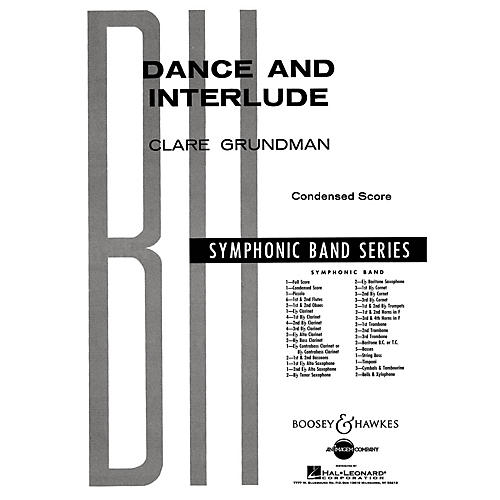 Boosey and Hawkes Dance and Interlude Concert Band Composed by Clare Grundman thumbnail