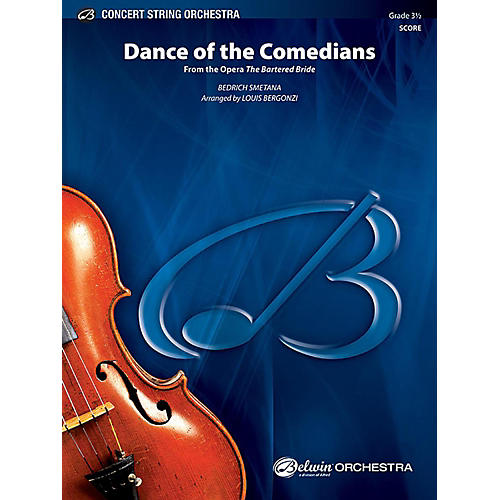 Alfred Dance of the Comedians String Orchestra Grade 3.5 Set thumbnail