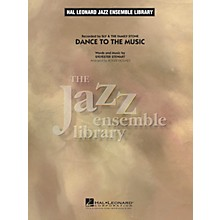 Hal Leonard Dance to the Music Jazz Band Level 4 by Sly & The Family Stone Arranged by Roger Holmes