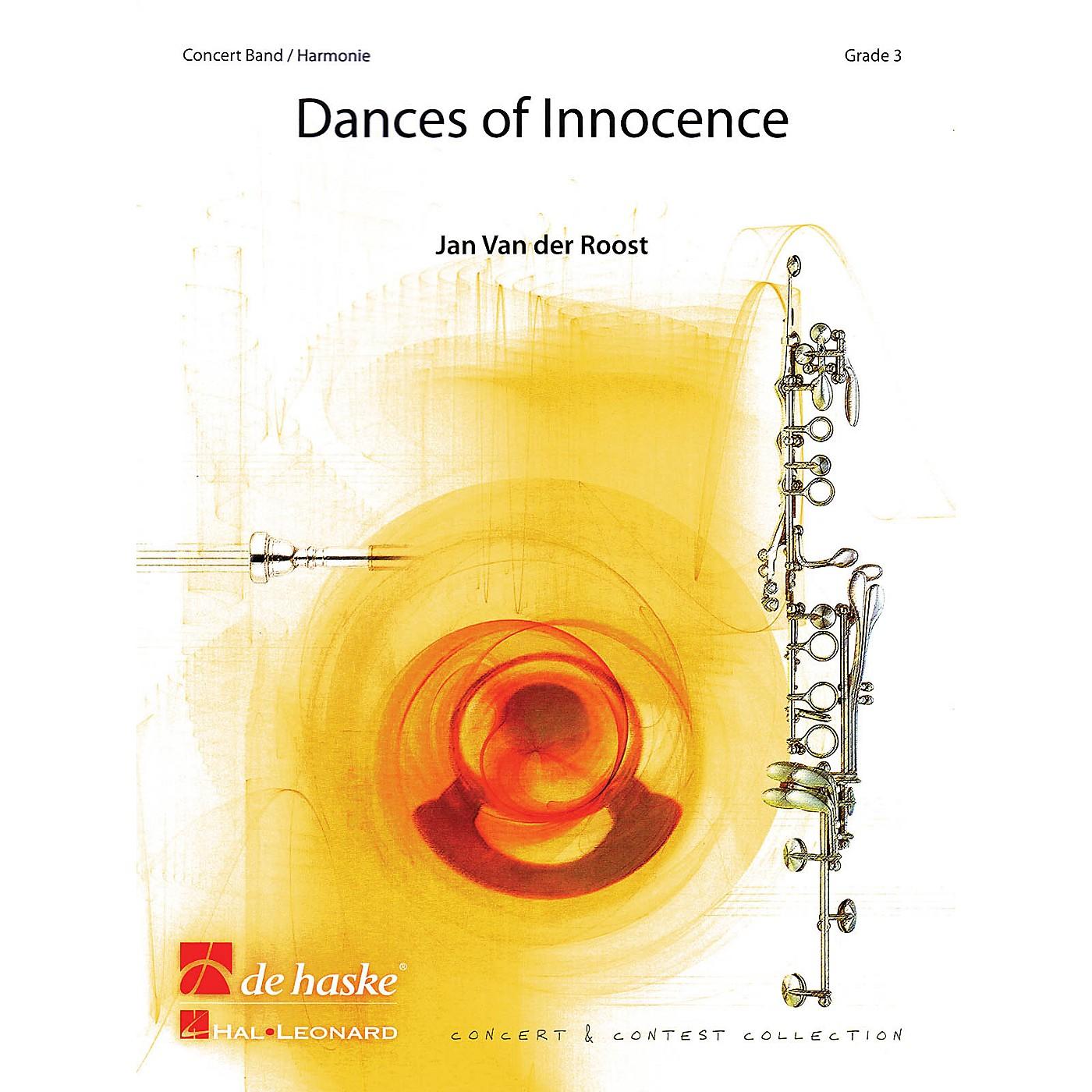 De Haske Music Dances of Innocence Concert Band Level 3 Composed by Jan Van der Roost thumbnail