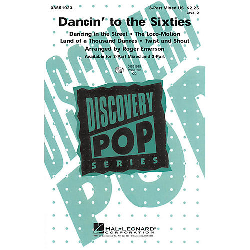Hal Leonard Dancin' to the Sixties 2-Part Arranged by Roger Emerson thumbnail