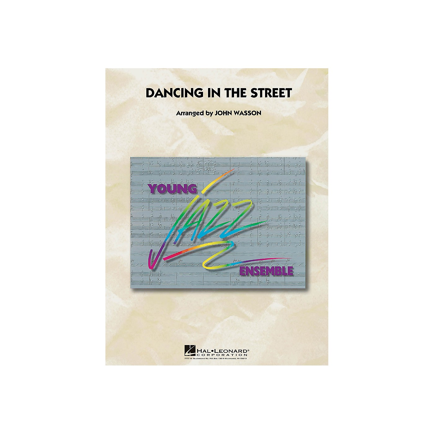 Hal Leonard Dancing In The Street - Young Jazz Ensemble Series Level 3 thumbnail