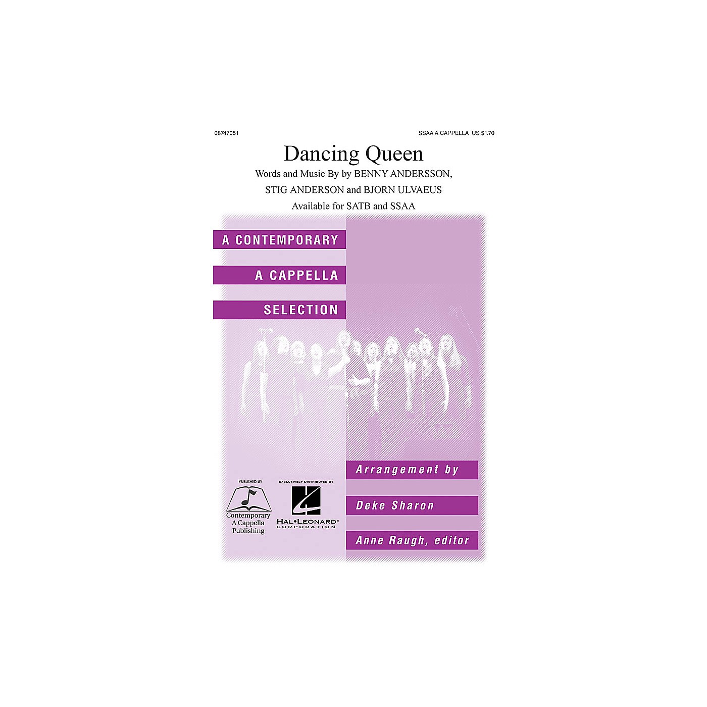 Hal Leonard Dancing Queen SSAA A Cappella by ABBA arranged by Deke Sharon thumbnail