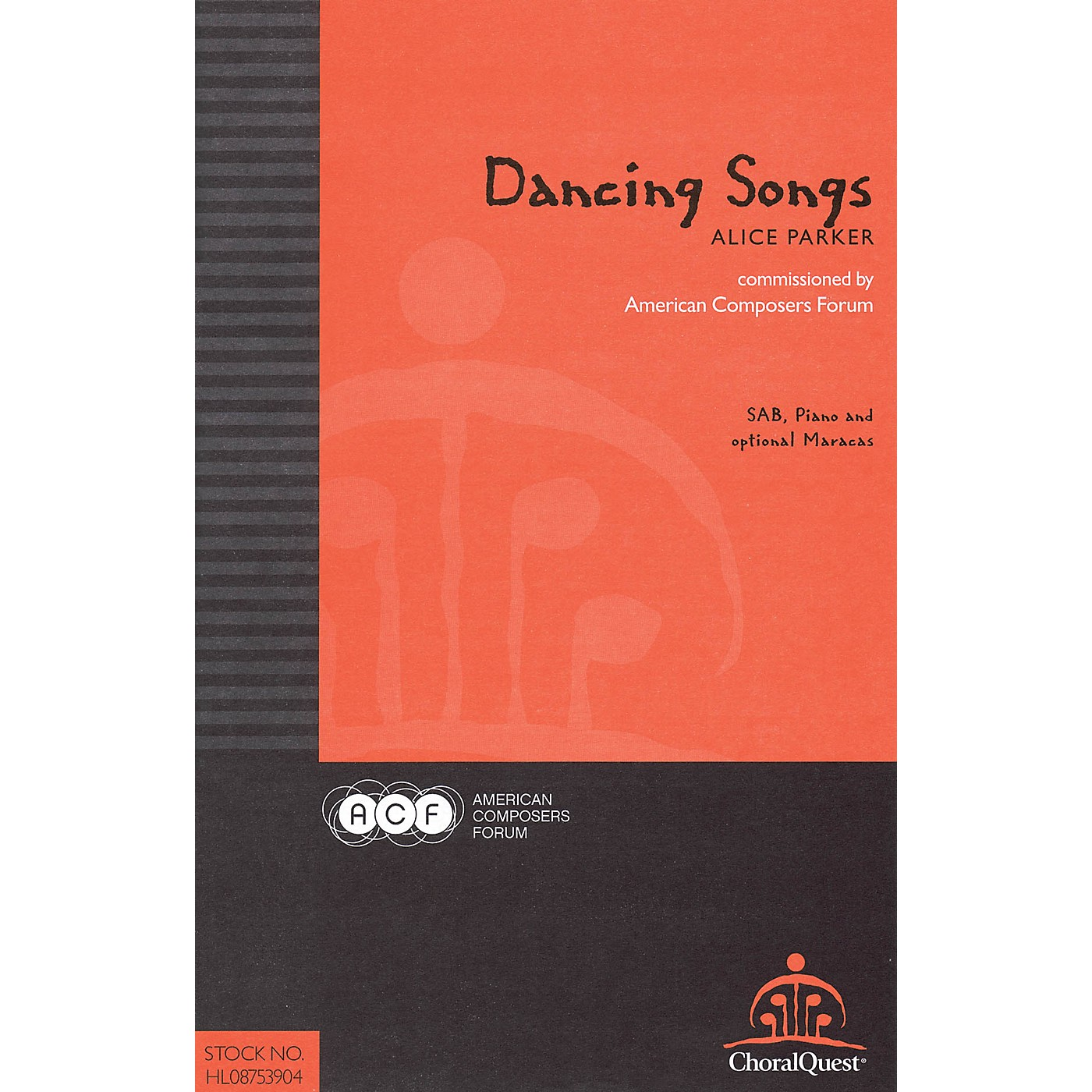 American Composers Forum Dancing Songs (Commissioned by American Composers Forum) SA(T)B composed by Alice Parker thumbnail