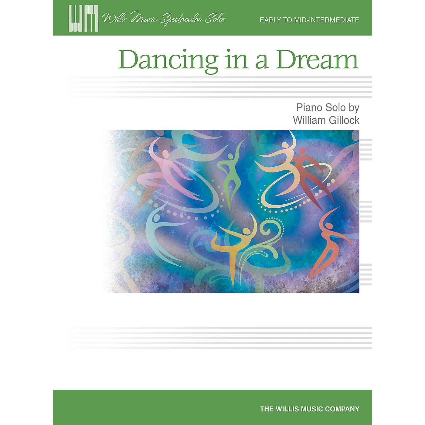 Willis Music Dancing in a Dream (Early Inter Level) Willis Series by William Gillock thumbnail