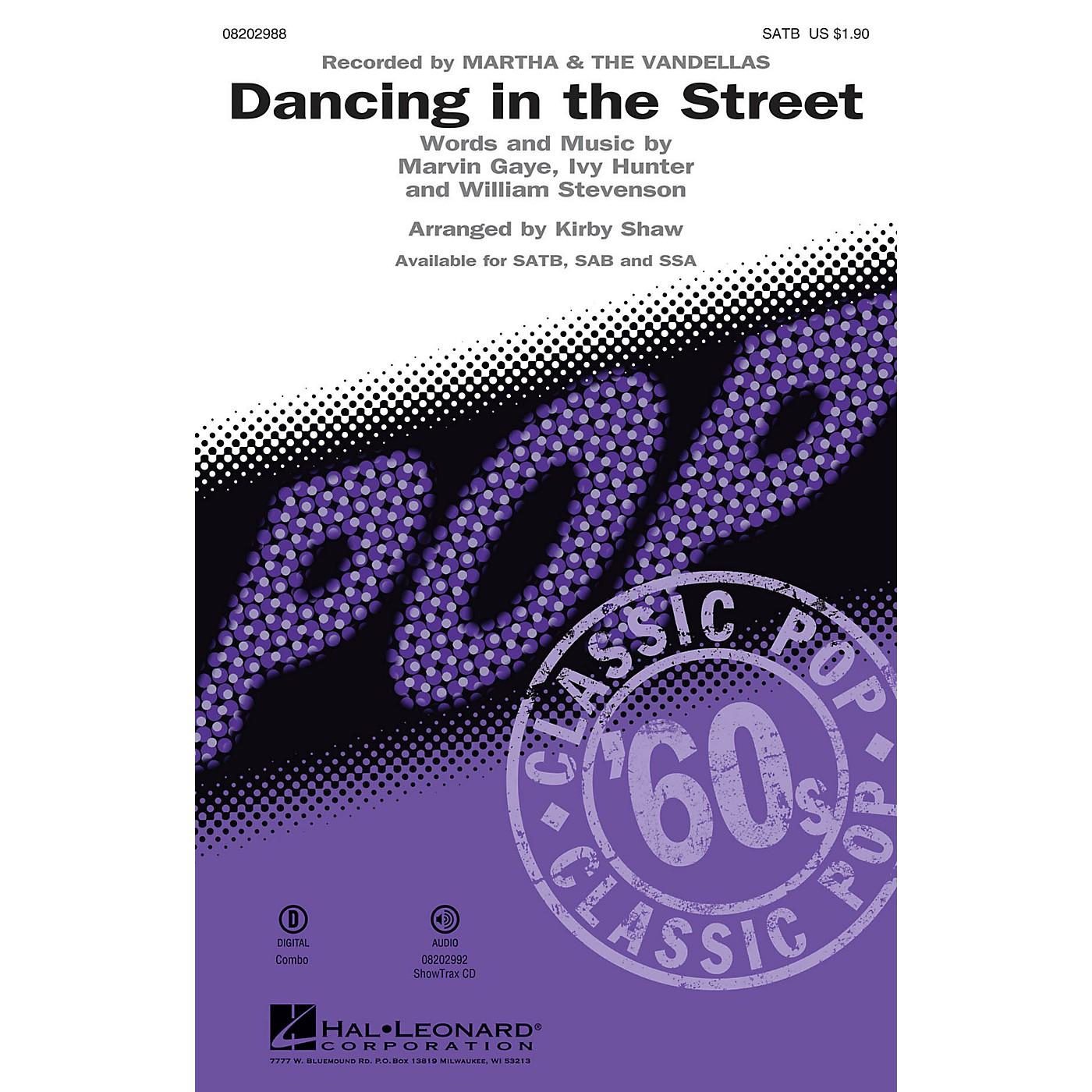 Hal Leonard Dancing in the Street SAB by Martha & The Vandellas Arranged by Kirby Shaw thumbnail