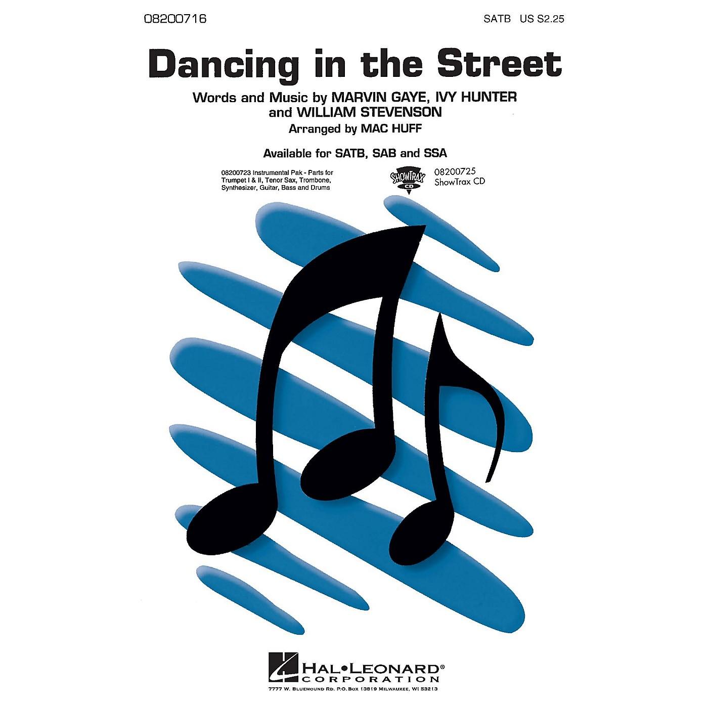 Hal Leonard Dancing in the Street SSA Arranged by Mac Huff thumbnail