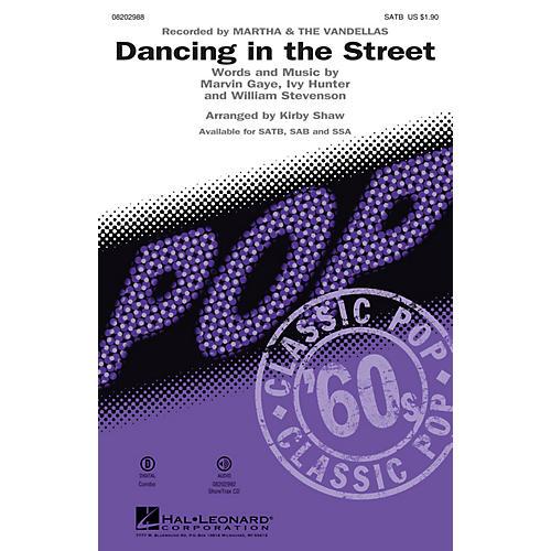 Hal Leonard Dancing in the Street SSA by Martha & The Vandellas Arranged by Kirby Shaw thumbnail