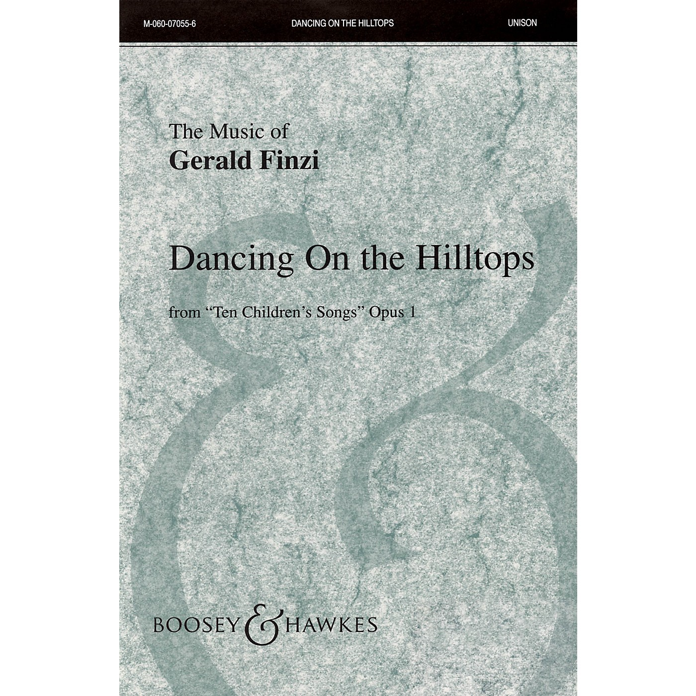 Boosey and Hawkes Dancing on the Hilltops (from Ten Children's Songs, Op. 1) UNIS composed by Gerald Finzi thumbnail