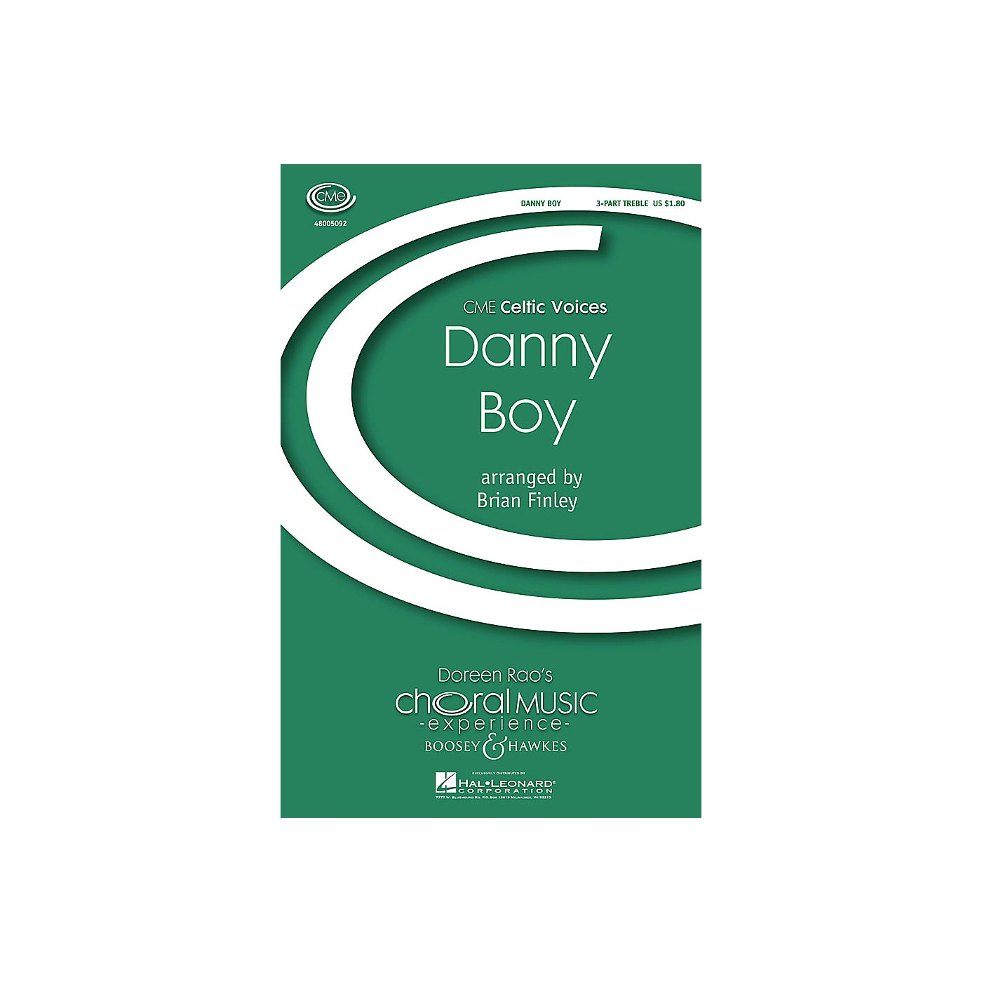 Boosey and Hawkes Danny Boy (CME Celtic Voices) SSA A Cappella arranged by Brian Finley thumbnail