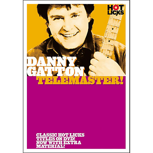 Hot Licks Danny Gatton: Telemaster! (DVD)-thumbnail