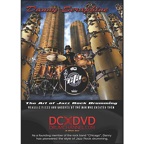 The Drum Channel Danny Seraphine - The Art of Jazz Rock Drumming 2 DVDs-thumbnail