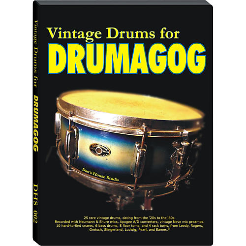 Wave Machine Labs Dan's House Vintage Drums Collection - Sample Library-thumbnail