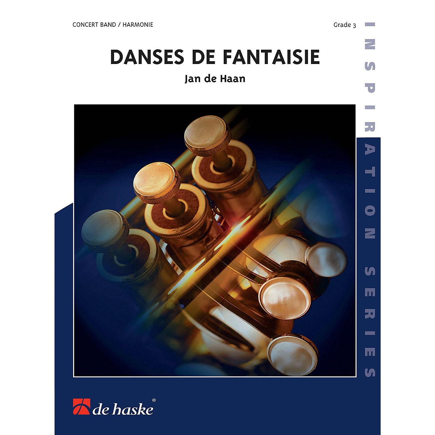 Hal Leonard Danses De Fantaisie Score Only Concert Band thumbnail