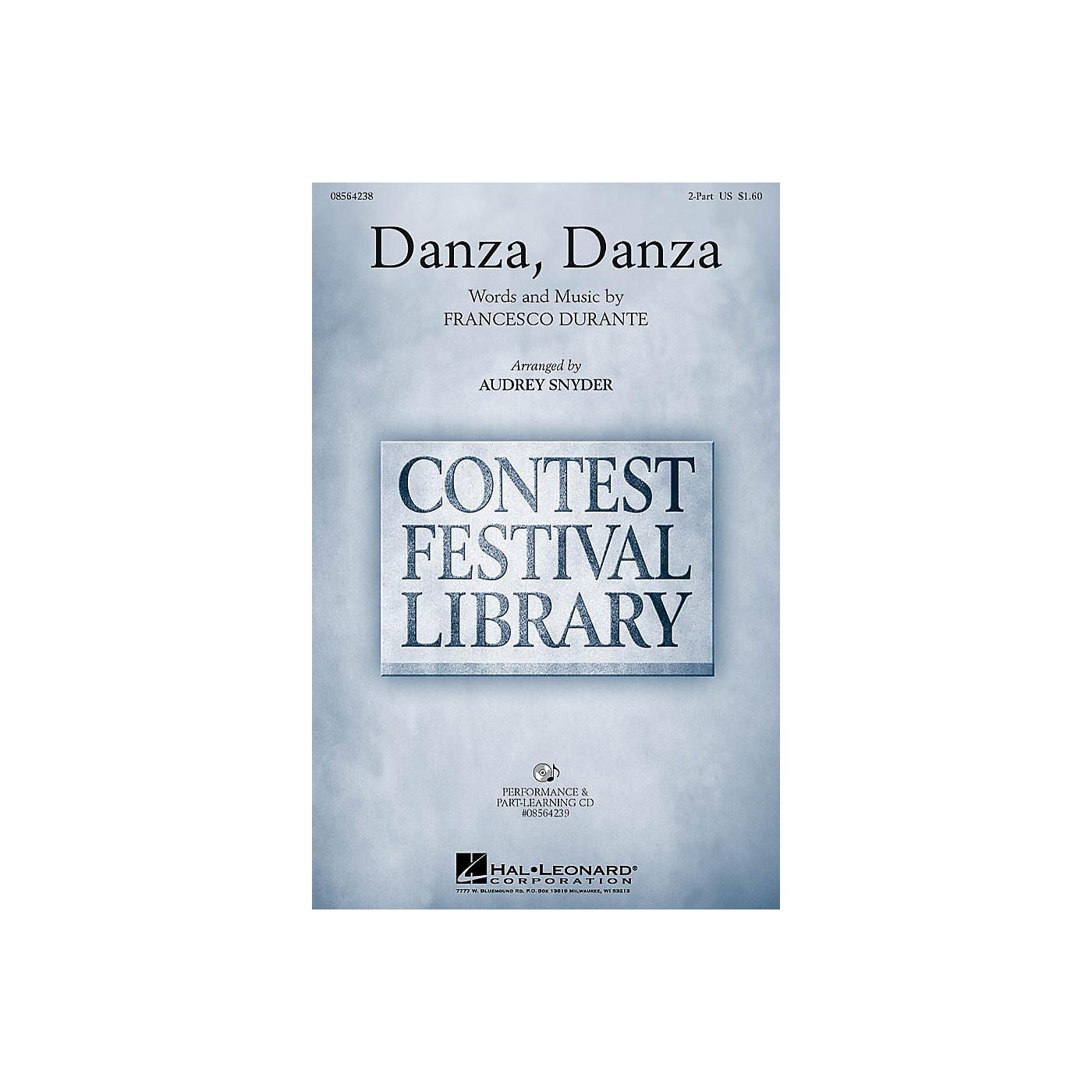 Hal Leonard Danza, Danza 2-Part arranged by Audrey Snyder thumbnail