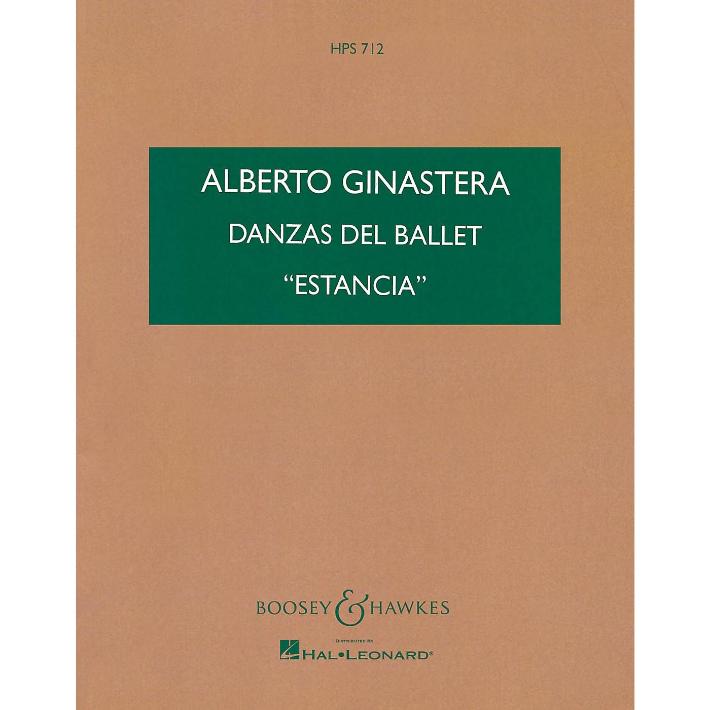 Boosey and Hawkes Danzas del Ballet Estancia (Study Score) Boosey & Hawkes Scores/Books Series by Alberto E. Ginastera thumbnail