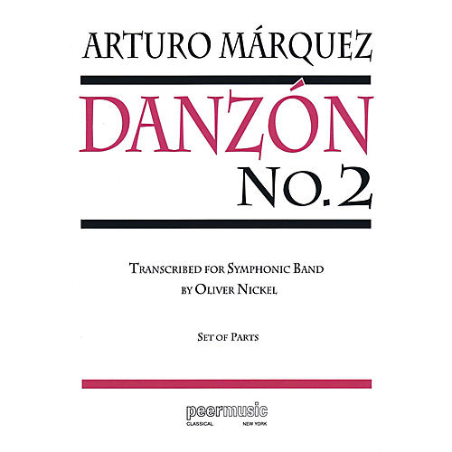 Peer Music Danzón No. 2 Concert Band Level 4 Composed by Arturo Marquez thumbnail