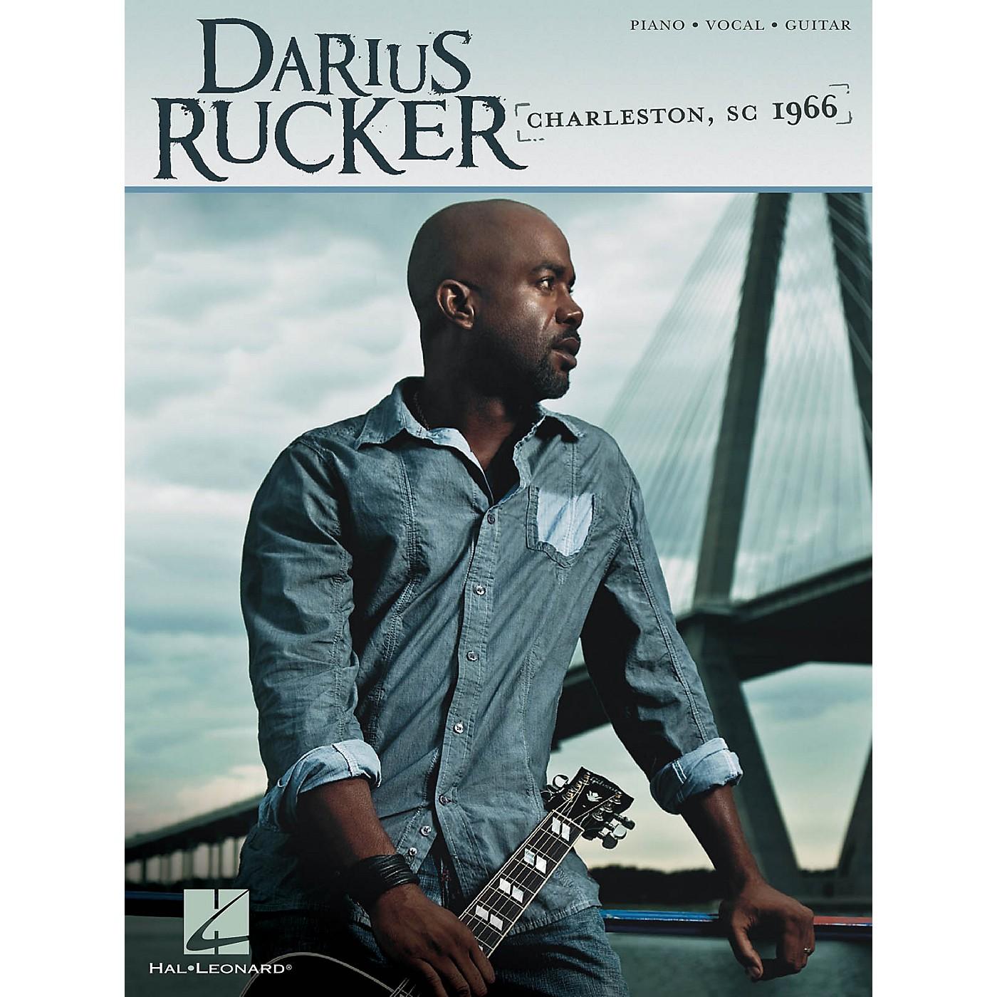 Hal Leonard Darius Rucker - Charleston SC 1966 PVG Songbook thumbnail
