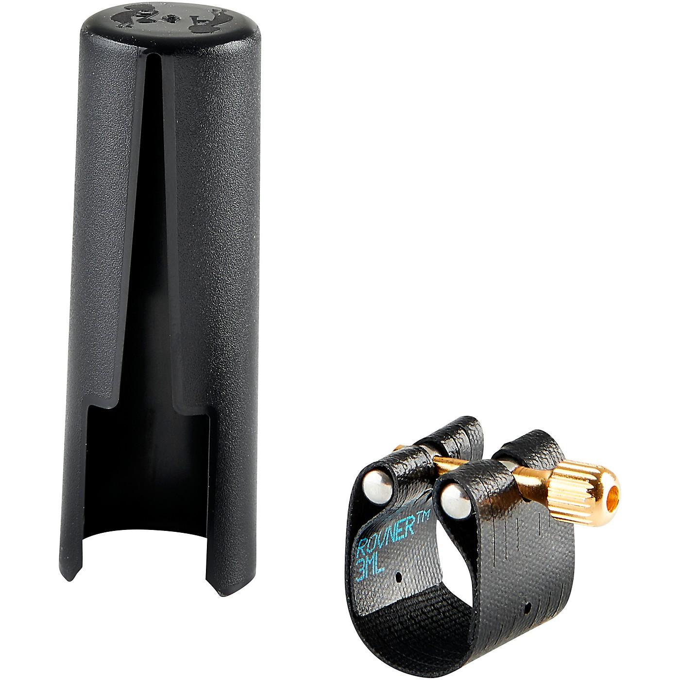 Rovner Dark Baritone Saxophone Ligature And Cap thumbnail
