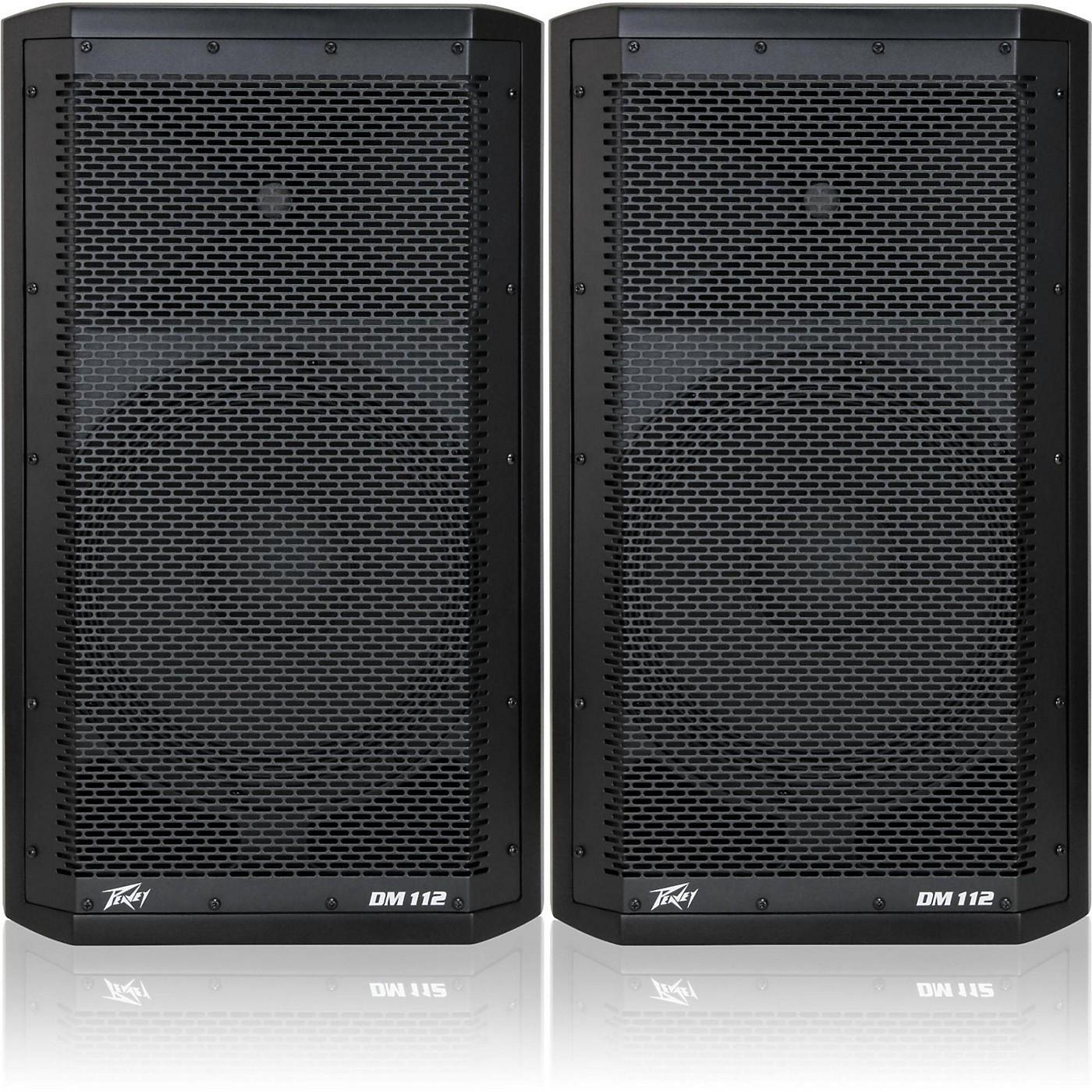 Peavey Dark Matter DM 112 Powered Speaker Pair thumbnail