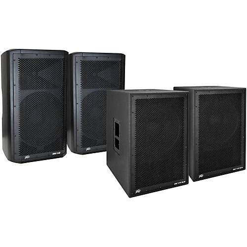 Peavey Dark Matter DM 112 Powered Speaker and DM115 Sub Pair thumbnail