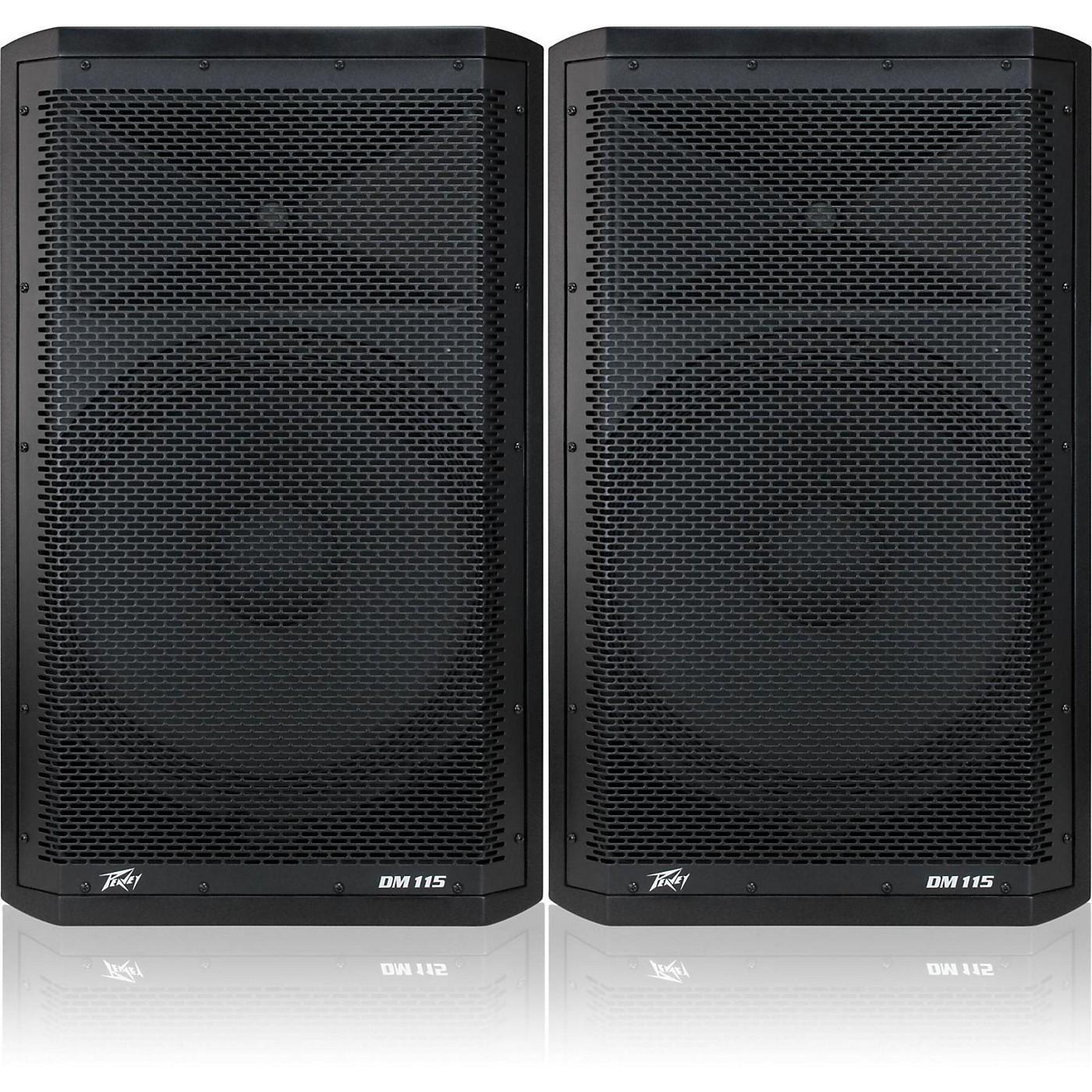 Peavey Dark Matter DM115 Powered Speaker Pair thumbnail