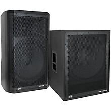 Peavey Dark Matter DM115 Powered Speaker and DM118 Sub