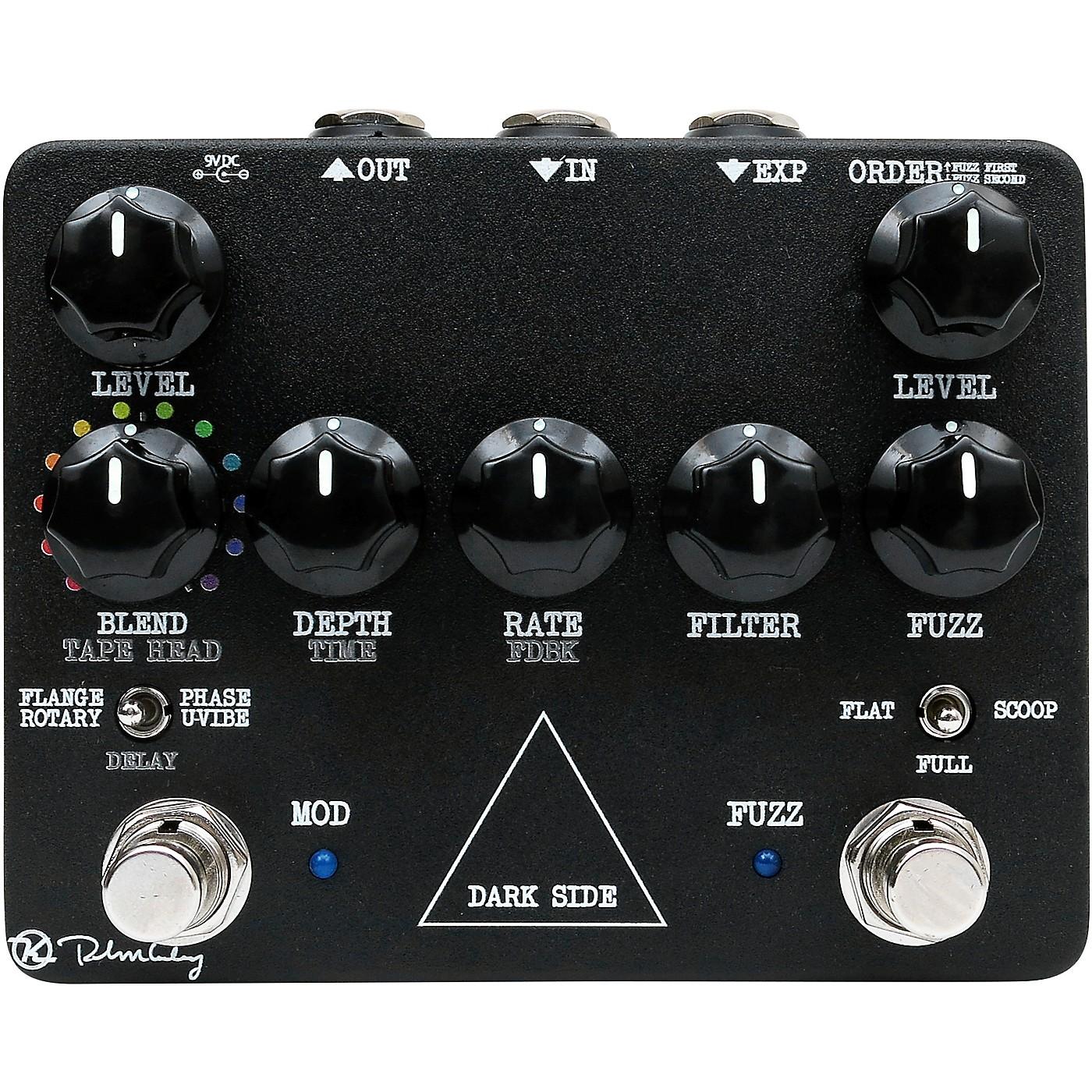 Keeley Dark Side Workstation Analog Multi-Effects Pedal thumbnail
