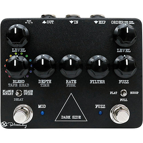 Keeley Dark Side Workstation Analog Multi-Effects Pedal thumbnail