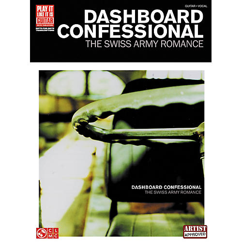 Cherry Lane Dashboard Confessional The Swiss Army Romance Guitar Tab Songbook thumbnail
