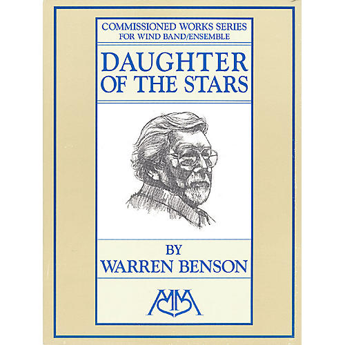 Edward B. Marks Music Company Daughter of the Stars Concert Band Composed by Warren Benson thumbnail