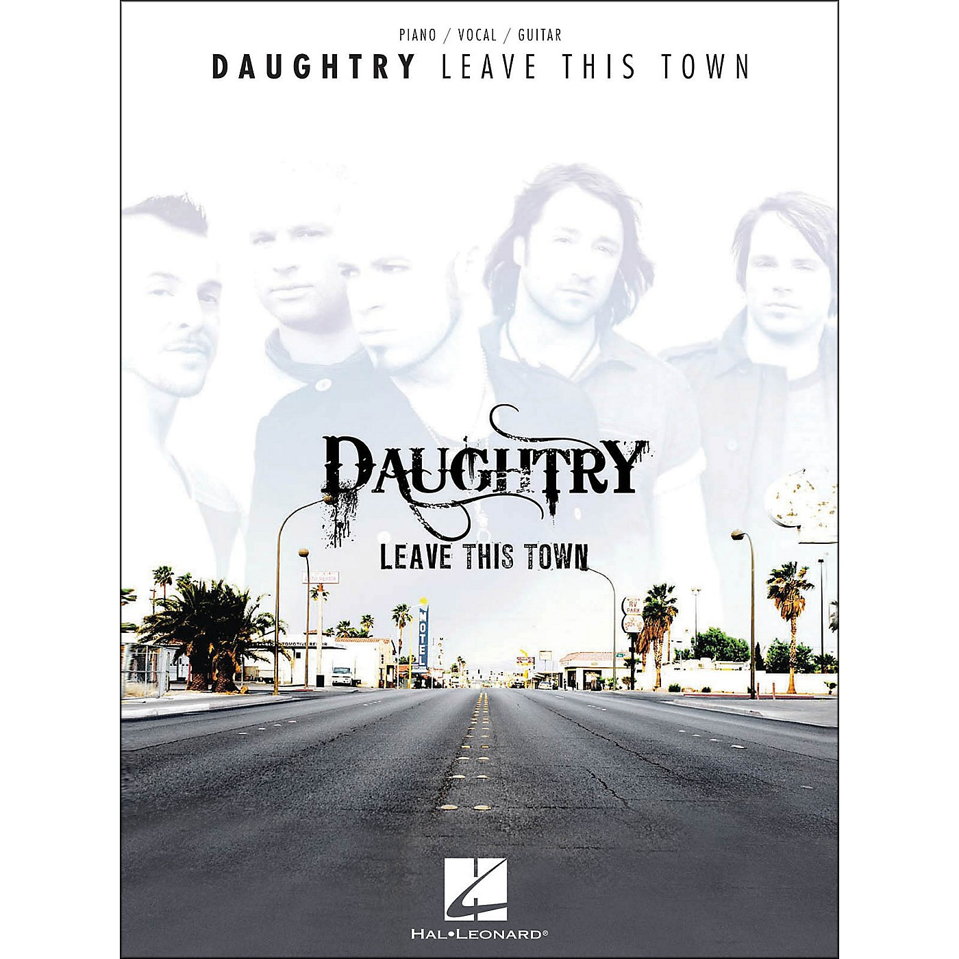 Hal Leonard Daughtry - Leave This Town arranged for piano, vocal, and guitar (P/V/G) thumbnail