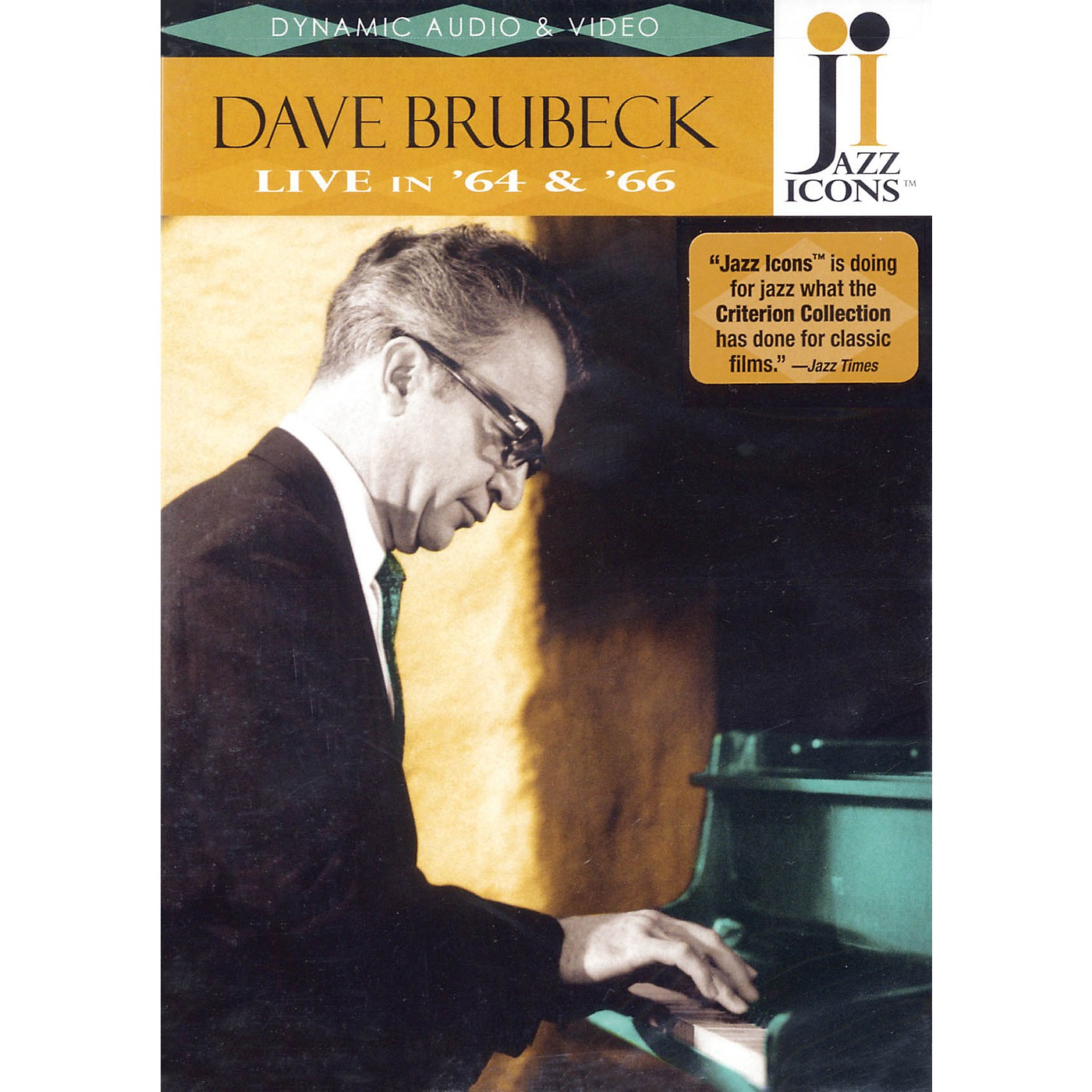 Jazz Icons Dave Brubeck - Live in '64 and '66 Live/DVD Series DVD Performed by Dave Brubeck thumbnail
